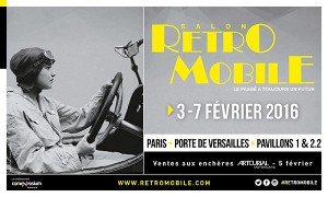 Salon Rétromobile 2016 - Paris Porte de Versailles